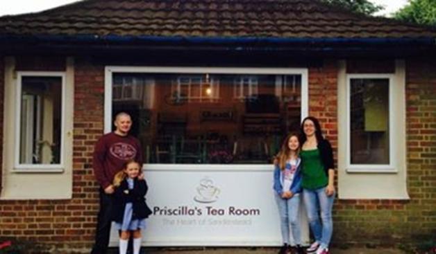 Meet us at Priscilla's Team Room in Sanderstead